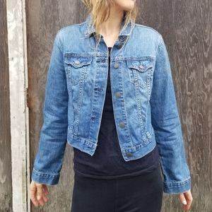 Old Navy | classic boxy jean jacket